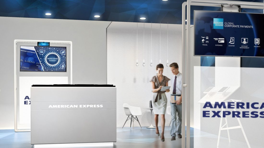 american express stand